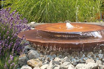 Brunnen und Gewässer in Oberkirnach